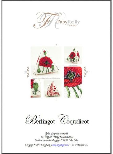 Berlingot Coquelicot - Faby Reilly Designs