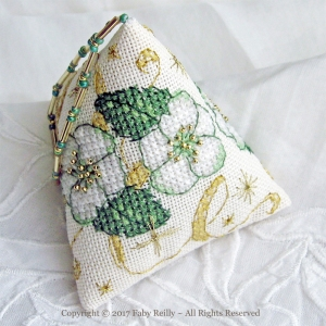 Christmas Rose Humbug - Faby Reilly Designs