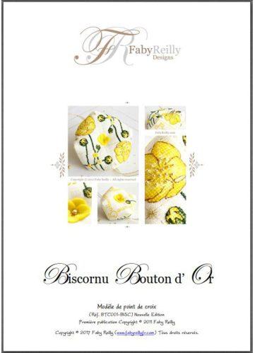 Biscornu Bouton d'Or