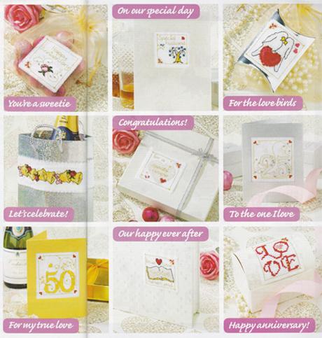 50 Idées de Cadeau d'anniversaire de mariage pour CrossStitch Crazy