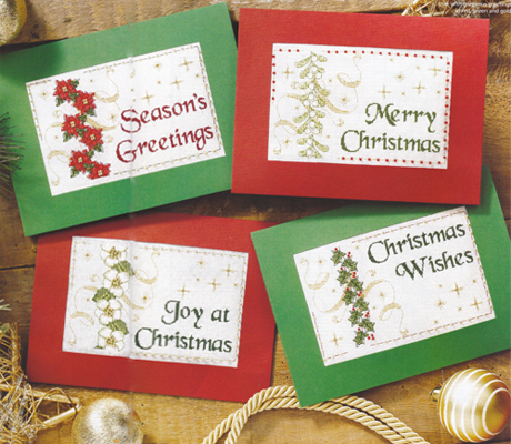 Cartes de Noël pour CrossStitch Gold