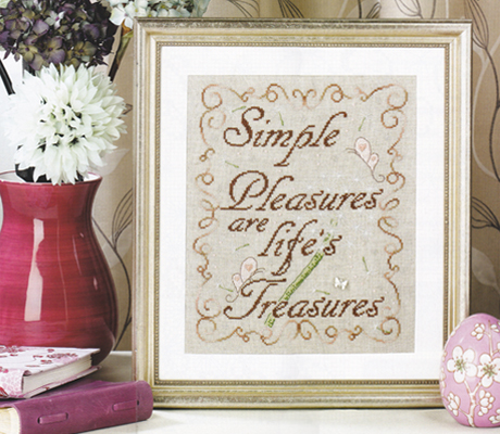 Tableau Simple Treasures pour CrossStitch Gold