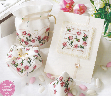 Ensemble Sweet Roses pour CrossStitch Gold