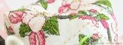 Biscornu Fleur de Pommier