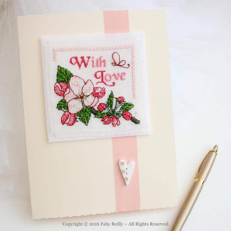 Carte Fleur de Pommier
