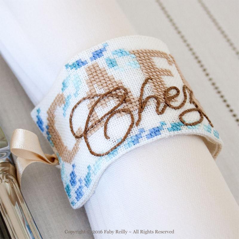 Ronds de serviette Café Chez Nous