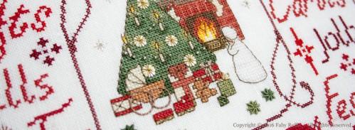 Tableau Noël Victorien