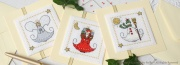 Lot de 3 cartes Little Christmas