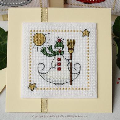Lot de 3 cartes Little Christmas