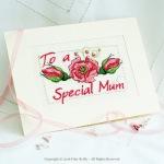 Carte Pink Rose
