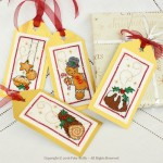 Etiquettes de Noël (série gourmande)