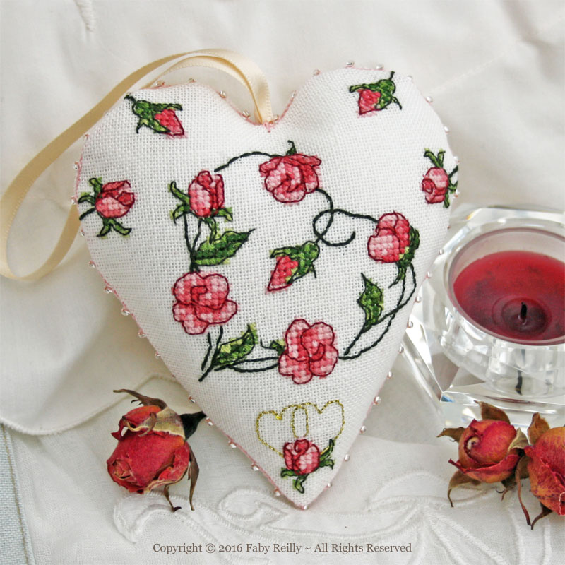 Cœur Sweet Roses