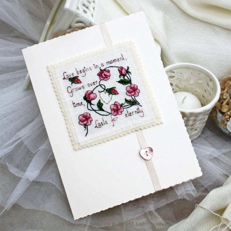 Carte Sweet Roses