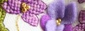Biscornu Violette