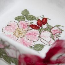 Vide-poches Fleur d'Eglantine