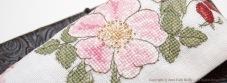 Etui à lunettes Fleur d'Eglantine