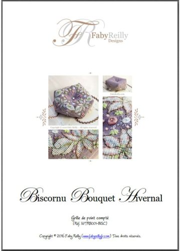 Biscornu Bouquet Hivernal
