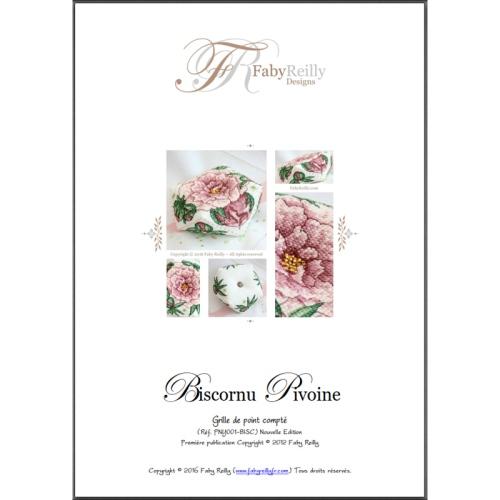 Biscornu Pivoine