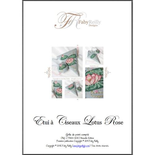 Etui à Ciseaux Lotus Rose
