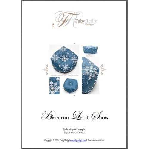 Biscornu Let it Snow - Faby Reilly Designs