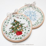 Tambours Sapin et Flocon - Faby Reilly Designs