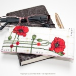 Etui à lunettes Coquelicot - Faby Reilly Designs