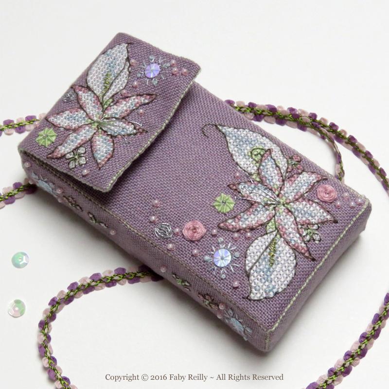 Etui à Mouchoirs Bouquet Hivernal - Faby Reilly Designs