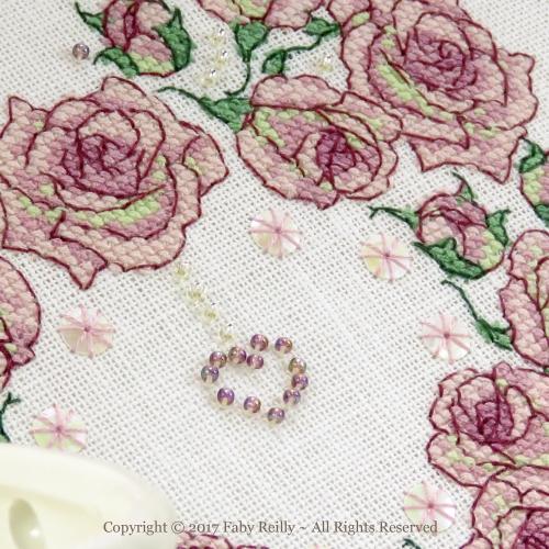 Cœur il était une Rose - Faby Reilly Designs