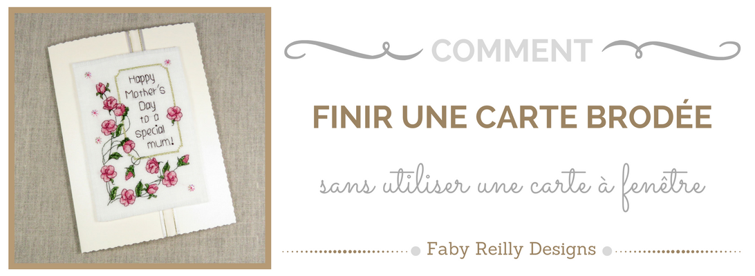Tutoriel de la carte - Faby Reilly Designs