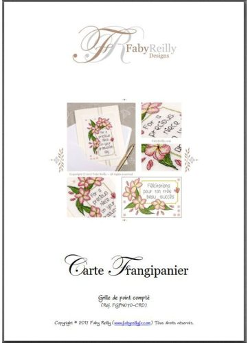Carte Frangipanier