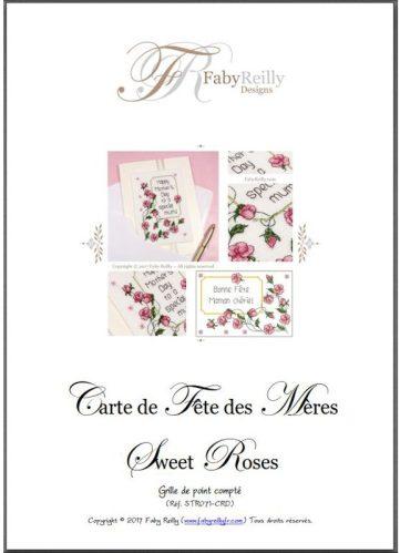 Carte Fete des Meres Sweet Roses