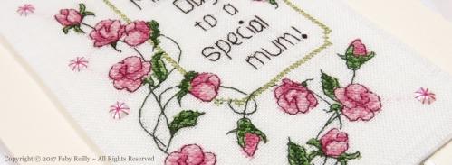 Carte Fête des Mères Sweet Roses