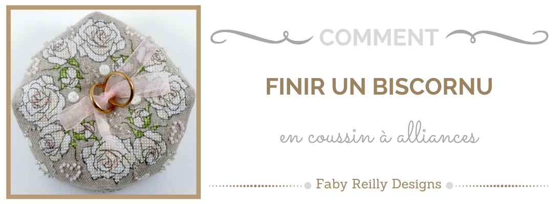 Tutoriel Biscornu - Faby Reilly Designs