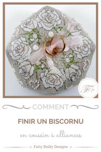 Tutoriel du Biscornu - Faby Reilly Designs